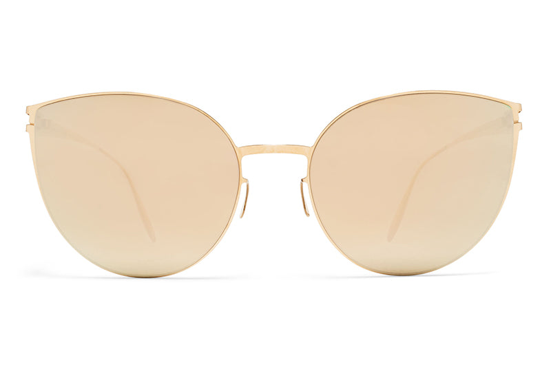 MYKITA & Bernhard Willhelm  - Beverly F69 Champagne Gold with Champagne Gold Lenses