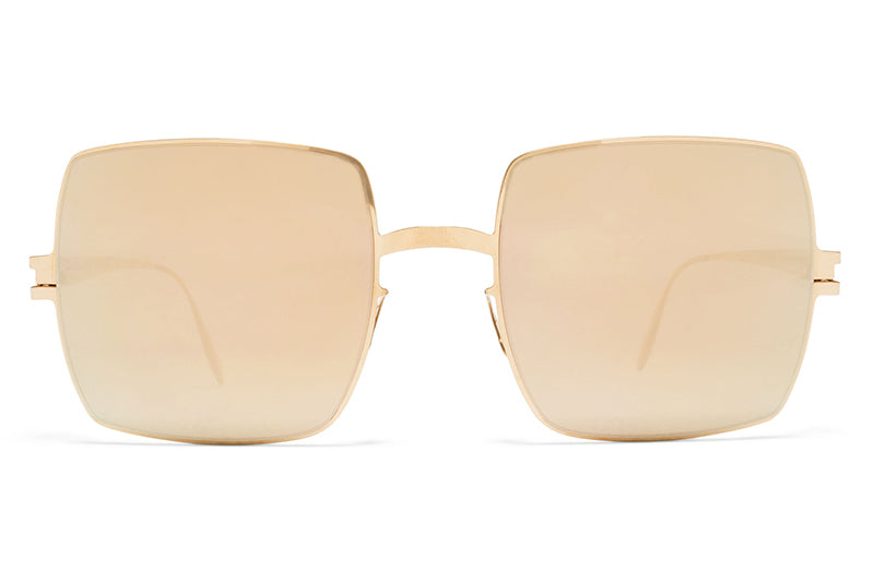 MYKITA & Bernhard Willhelm  - Dusty F69 Champagne Gold with Champagne Gold Lenses