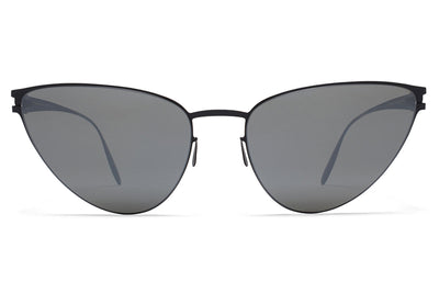 MYKITA & Bernhard Willhelm  - Eartha F25 Matte Black with Mirror Black Lenses