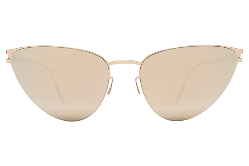 MYKITA & Bernhard Willhelm  - Eartha F69 Champagne Gold with Champagne Gold Lenses