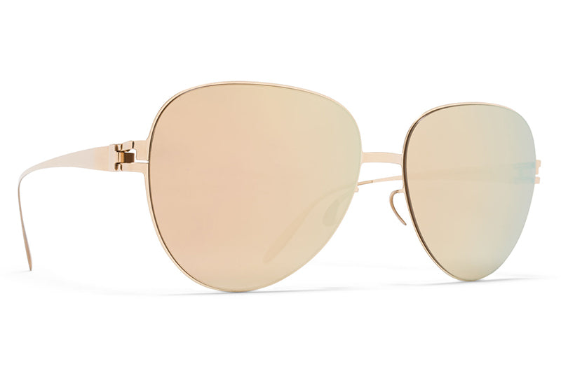 MYKITA & Bernhard Willhelm  - Joni F69 Champagne Gold with Champagne Gold Lenses
