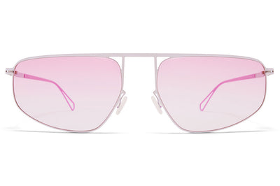 MYKITA & Bernhard Willhelm - Nat Sunglasses Chrome/Barbie Lilac with Jelly Pink Gradient Lenses