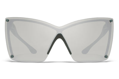 MYKITA & Bernhard Willhelm - Tyrese Sunglasses MD8 - Storm Grey with Silver Flash Shield