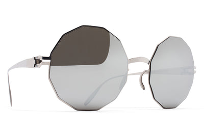 MYKITA & Bernhard Willhelm  - Veruschka F10 Silver with Silver Flash Lenses