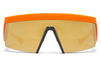 MYKITA & Bernhard Willhelm - Vice MM12 Yellow/Orange with Lateral Gold Flash Lens