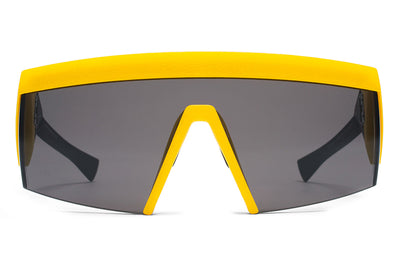MYKITA & Bernhard Willhelm - Vice MM9 Black/Yellow with Lateral Grey Solid Lens