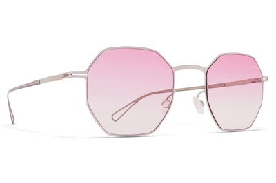 MYKITA & Bernhard Willhelm - Walsh Shiny Silver with Jelly Pink Gradient Lenses