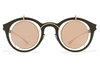 MYKITA / Damir Doma - Bradfield Sunglasses Champagne Gold/Camou Green with Champagne Gold Lenses
