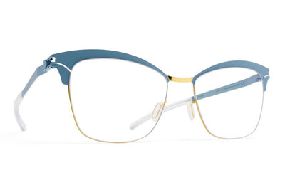 MYKITA Eyewear - Celia Gold/Blue Grey