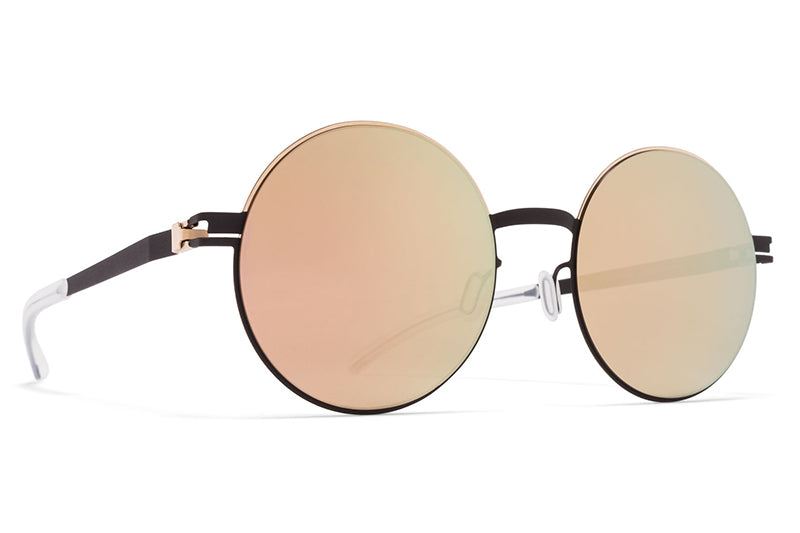 Champagne Gold/Ebony Brown with Champagne Gold Lenses