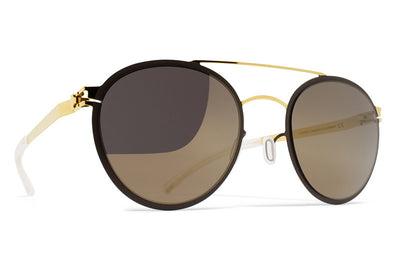 MYKITA Sunglasses - Buster Gold/Terra with Brilliant Grey Solid Lenses