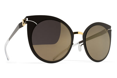 MYKITA Sunglasses - Giulietta Gold/Terra with Brilliant Grey Solid Lenses
