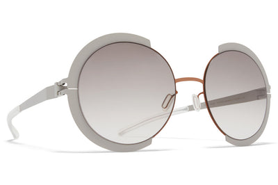 MYKITA - Houston Sunglasses Shiny Copper/Stone Grey with Original Grey Gradient Lenses