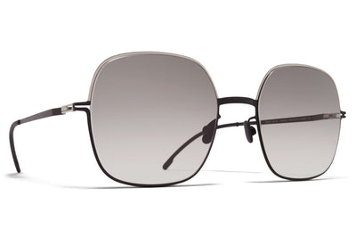MYKITA - Magda Sunglasses Silver/Black with Original Grey Gradient Lenses