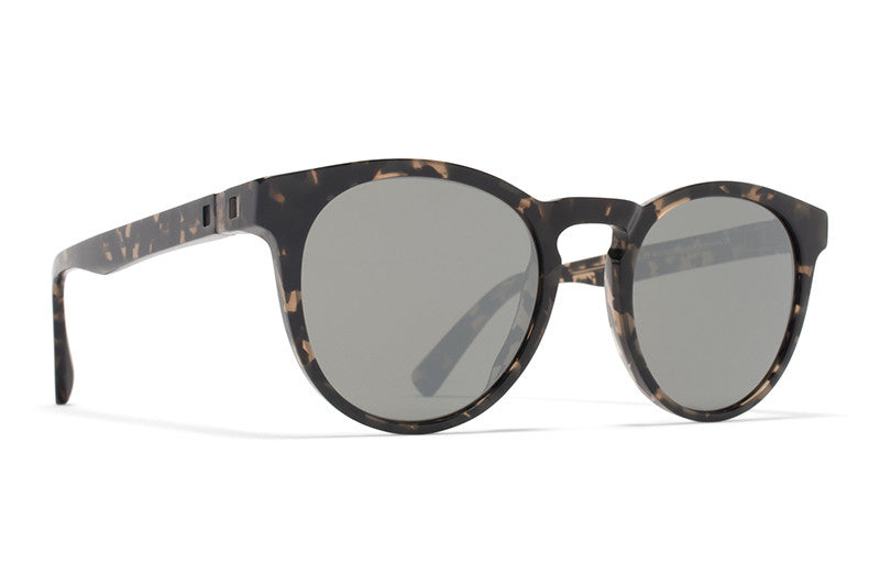 MYKITA Sunglasses - Olive Antigua with Mirror Black Lenses