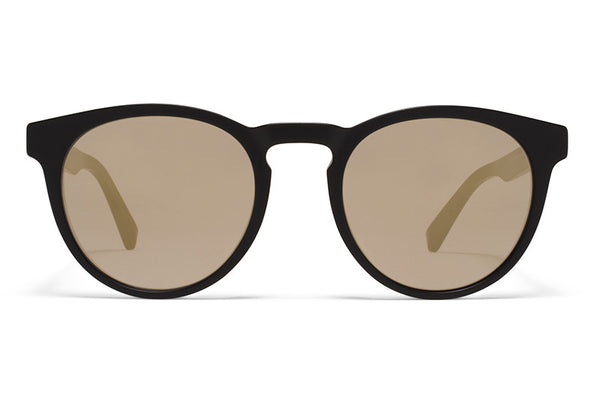 MYKITA Sunglasses - Olive Matte Black with Brilliant Grey Solid Lenses