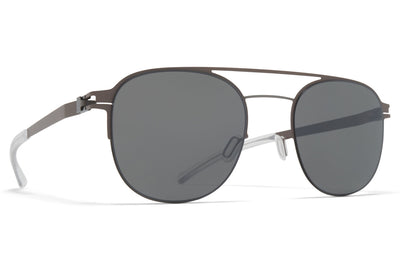 MYKITA - Park Sunglasses Shiny Graphite/Mole Grey with Mirror Black Lenses