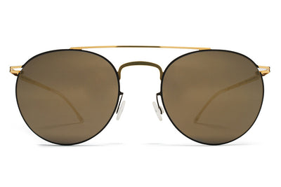 MYKITA Sunglasses - Pepe Gold/Terra with Brilliant Grey Solid Lenses