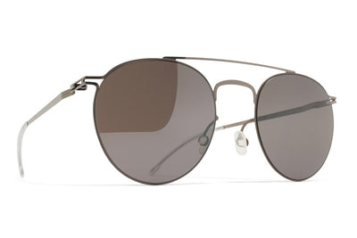MYKITA Sunglasses - Pepe Shiny Graphite/Mole Grey with Dark Purple Flash Lenses