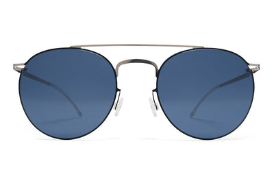 MYKITA Sunglasses - Pepe Silver/Night Sky with Saphire Blue Lenses