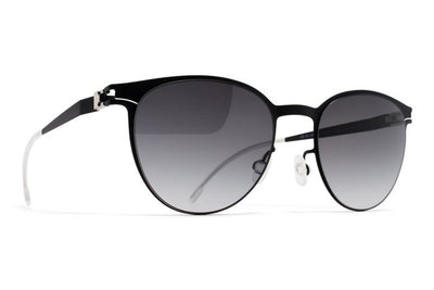 MYKITA First Sunglasses - Beluga Black with Black Gradient Lenses