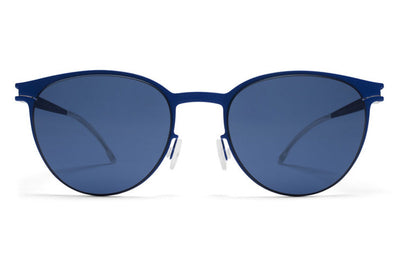 MYKITA First Sunglasses - Beluga International Blue with Saphire Blue Lenses
