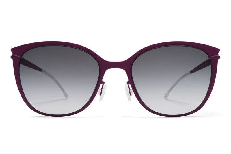 MYKITA First Sunglasses - Kea Lilac with Black Gradient Lenses