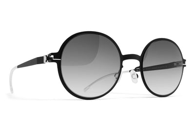 MYKITA First Sunglasses - Flamingo Black with Black Gradient Lenses