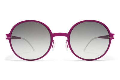 MYKITA First Sunglasses - Flamingo Lilac with Black Gradient Lenses