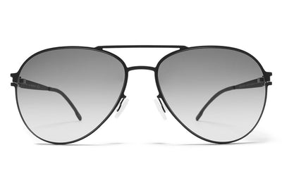 MYKITA First Sunglasses - Woodpecker Black with Black Gradient Lenses