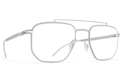 MYKITA | Leica - ML08 Eyeglasses Leica Silver/Leica Red Edges
