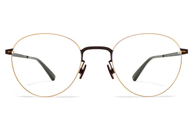 MYKITA LESSRIM - Eito Eyeglasses Gold/Dark Brown