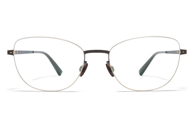 MYKITA LESSRIM - Minako Eyeglasses Gold/Dark Brown