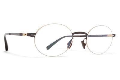 MYKITA - Naoko Eyeglasses Gold/Dark Brown