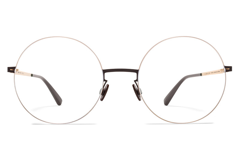 MYKITA LESSRIM - Yoko Eyeglasses Champagne Gold/Dark Brown