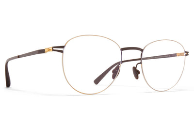 MYKITA - Taro Eyeglasses Gold/Dark Brown