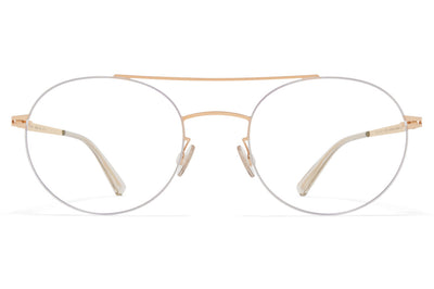 MYKITA LESSRIM - Tomi Eyeglasses Silver/Champagne Gold