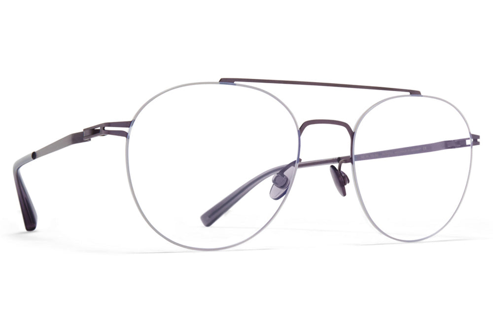 MYKITA LESSRIM - Yoshi Eyeglasses Blackberry/Cinerous Grey