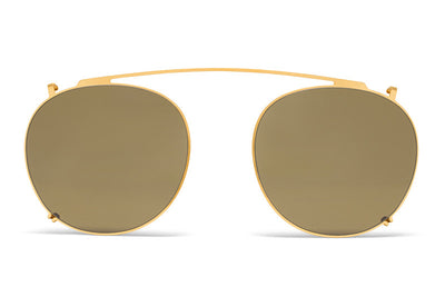 MYKITA Sunglasses - Keelut | Clip On Shades Glossy Gold