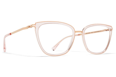 MYKITA - Aili Eyeglasses Champagne Gold/Rose Water