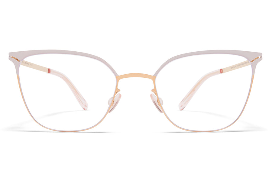 MYKITA - Arielle Eyeglasses Champagne Gold/Dark Brown