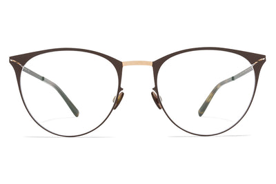 MYKITA Eyewear - Bella Champagne Gold/Dark Brown