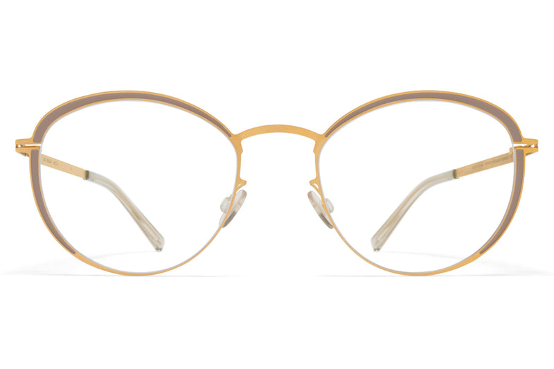 MYKITA - Beulah Eyeglasses Frosted Gold/Dark Sand