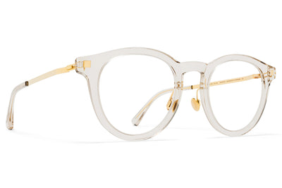 MYKITA Eyewear - Elve with Nose Pads Champagne/Glossy Gold