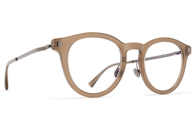 MYKITA Eyewear - Elve with Nose Pads Taupe/Shiny Graphite