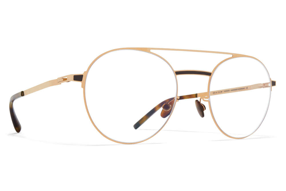 MYKITA - Eri Eyeglasses Champagne Gold/Dark Brown