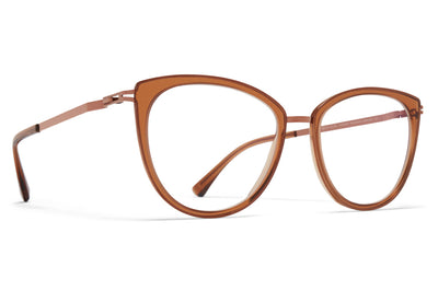 MYKITA - Gunda Eyeglasses Shiny Copper/Topaz