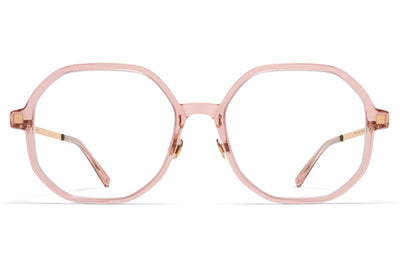MYKITA - Hilla with Nose Pads Eyeglasses Melrose/Champagne Gold