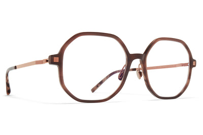MYKITA - Hilla Eyeglasses with Nose Pads Bora Bora/Purple Bronze
