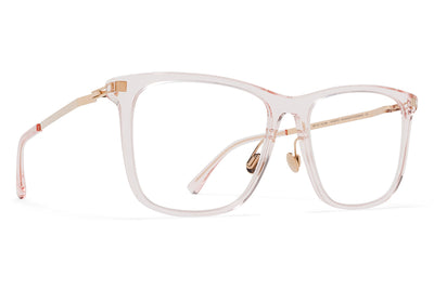 MYKITA Eyewear - Jovva with Nose Pads Rose Water/Champagne Gold